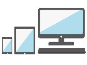 パソコンやスマートフォン、タブレットなどの電子機器