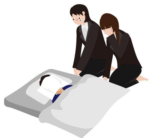 自宅で家族が亡くなった時に無事葬儀を終えるまでに必要なこと04