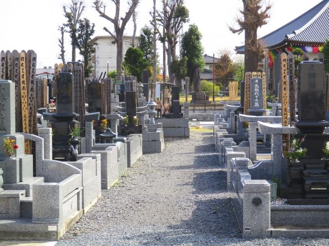 埋葬を考えている墓地